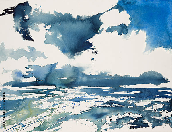 Aquarela - Blue Sea - Tina Christiansen