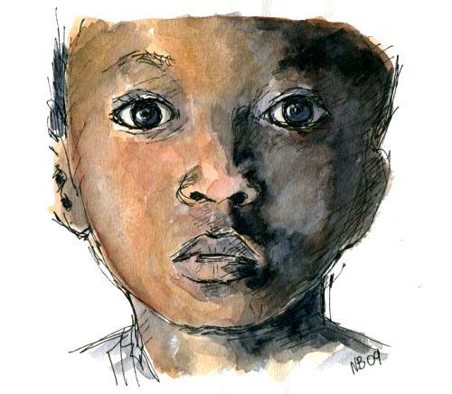 AQUARELA - enfant-afrique - nathalie boyaval-002