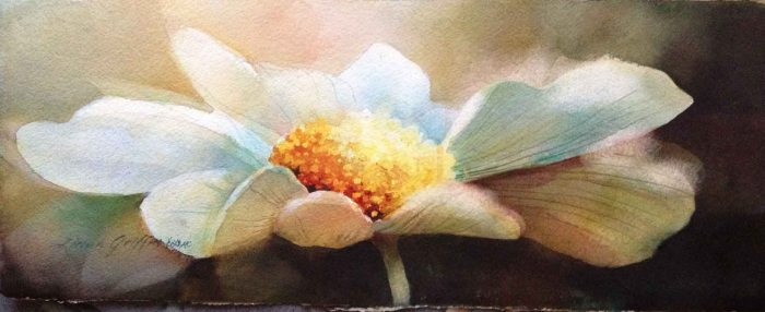 AQUARELA - Linda Griffin - daisy