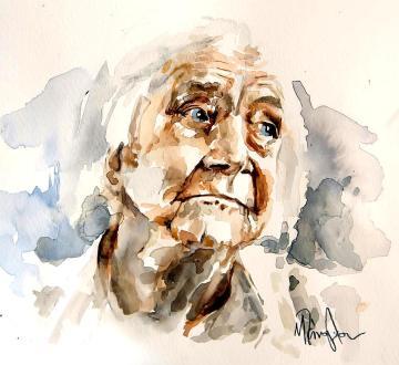 AQUARELA -portrait-of-an-old-woman-michael-tsinoglou-003