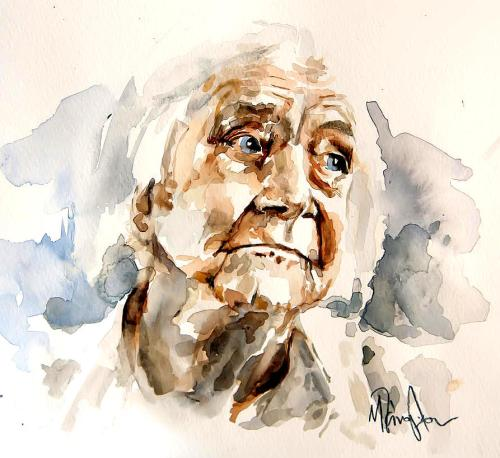 AQUARELA -portrait-of-an-old-woman-michael-tsinoglou-003